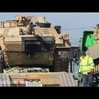 U.S. Army Deploys Armored Unit to Europe