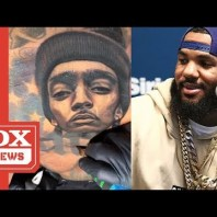 The Game Gets Massive Nipsey Hussle Chest Tattoo