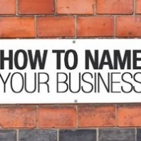 How To Decide On A Business Name?