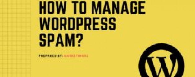 How to manage WordPress Spam Comments?