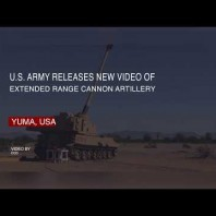 U.S. Army releases new video of Extended Range Cannon Artillery