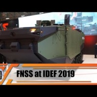 IDEF 2019 FNSS unveils new ZAHA MAV Marine Assault Vehicle amphibious armored