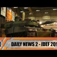 IDEF 2019 international defense industry fair exhibition show daily news Istanbul Turkey Day 2