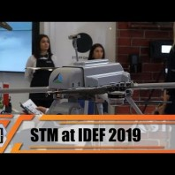 IDEF 2019 Turkish Company STM naval projects vessels UAVs unmanned aerial solutions cyber security
