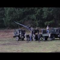 U.S. Army demonstrates experimental Brutus howitzer