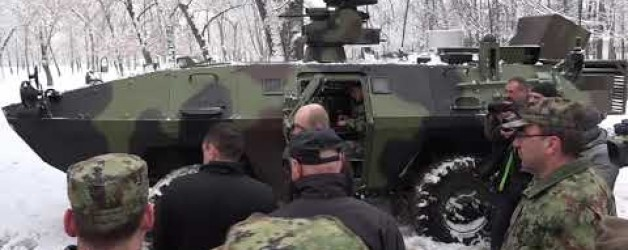 Serbia demonstrated new weapons and military equipment