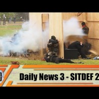 SITDEF 2019 Peruvian army Special Forces and SWAT team national police of Peru live demonstration
