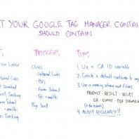 What Your Google Tag Manager Container Should Contain – Whiteboard Friday