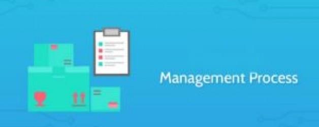 Explain Management as a process