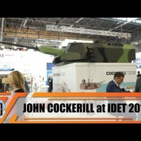 IDET 2019 John Cockerill formerly CMI Defence 3000 Series turret from 30 to 105 mm configurations