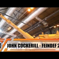FEINDEF 2019 John Cockerill presents its full range of weapon systems and turret in Madrid Spain