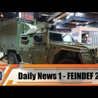 FEINDEF 2019 Defense and Security Exhibition in Madrid Spain show daily news Day 1