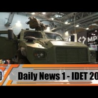 IDET 2019 International Fair of Defence and Security Technology Exhibition Brno Czech Republic Day 1