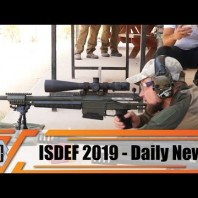 ISDEF 2019 Defense and Security Exhibition Israel Firing and live demonstration day Tel Aviv Israel