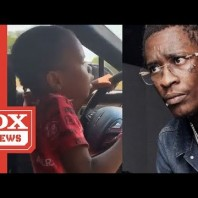 "Young Thug Reacts To Video Of His Daughter Driving Car  ""It'll Be Handled Expeditiously"""