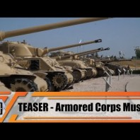 Teaser Armored Corps Museum Latrun Israel video coverage one of biggest military vehicles display