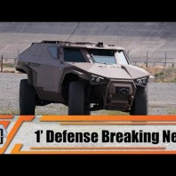 Scarabee Arquus 4×4 wheeled reconnaissance armored vehicle TechnoDay France French defense industry