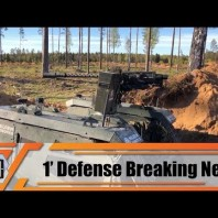 FN Herstal and Milrem Robotics deploy weaponized THeMIS UGV Unmanned Ground Vehicle in Estonia