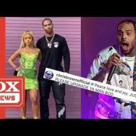 Chris Brown Thunderstorms Shade Onto Karrueche & Victor Cruz's Instagram Bae Pic