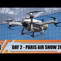 Paris Air Show 2019 International Defense Aviation and Aerospace Exhibition Show Daily News Day 2