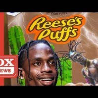 Travis Scott Is Selling Reese's Puff Cereal Boxes For $50 Dollars With His Face On It