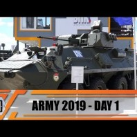 Army-2019 News International Military Technical Forum Exhibition Patriotic Park Moscow Russia Day 2