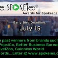 Don't Miss SPOKEies® Deadline: July 15th!