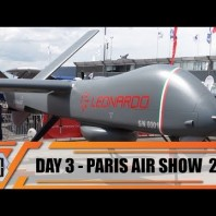 Paris Air Show 2019 International Defense Aerospace and Aviation Exhibition Le Bourget France Day 3