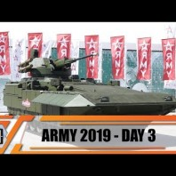 Army-2019 News International Military Technical Forum Exhibition Patriotic Park Moscow Russia Day 3