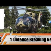 New Airbus H145M helicopter delivered to Serbian armed forces 1′ Defense Breaking News