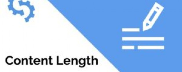 Content Length For Good SEO: What is the ideal content length?
