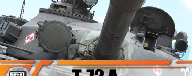 T-72A T-72M1 T-72 technical review Soviet-made main battle tank