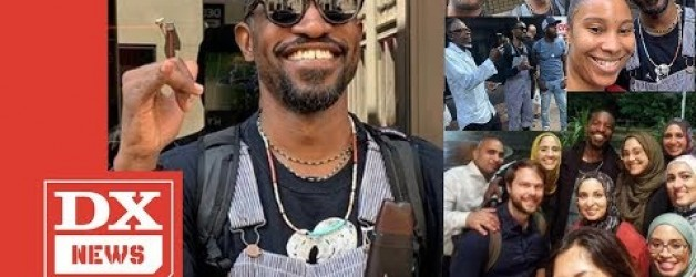 A Flute Playing André 3000 Is Strolling Around Philly Taking Photos With Fans