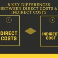 8 Key Differences between Direct Costs and Indirect Costs