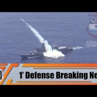Colombian Navy test fired SSM 700K Haeseong anti-ship missile from FS 1500 Almirante Padilla