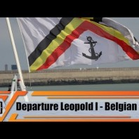 Departure for Leopold I frigate of Belgian Navy SNMG1 & future acquisition of combat ships Belgium
