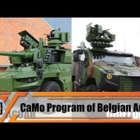 General Thys explains CaMo program new acquisition for Belgian army armored military equipment