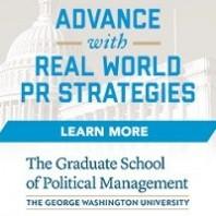 Obtain Advanced PR Skills through GW's Award Winning Master's Program