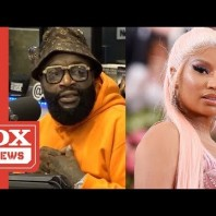 "Rick Ross Responds To Nicki Minaj's ""Sit Your Fat Behind Down"" Comment"