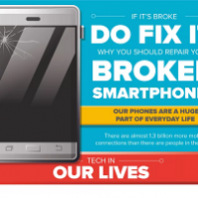 Why You Should Repair Your Broken Smartphone (INFOGRAPHIC)