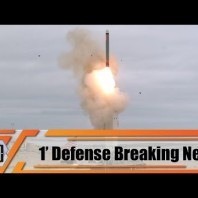 United States conduct test-fired of new ground-based cruise missile San Nicolas Island California.