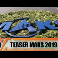 Teaser MAKS 2019 International Defense Aviation and Space Air Show Moscow Zhukovsky Russia