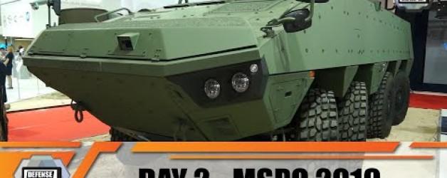 MSPO 2019 International Defense Industry Exhibition in Kielce Poland Day 2 Video show daily news
