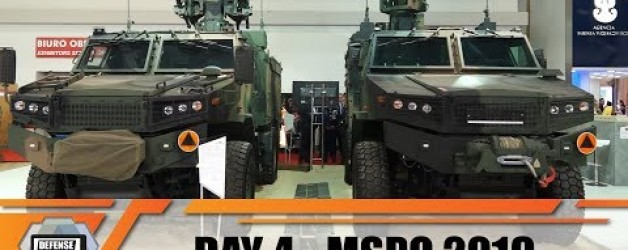 MSPO 2019 International Defense Industry Exhibition in Kielce Poland Day 4 Video show daily news