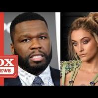 "50 Cent Asks Paris Jackson To Consider ""Little Boys Butts"" While Defending Chris Brown"