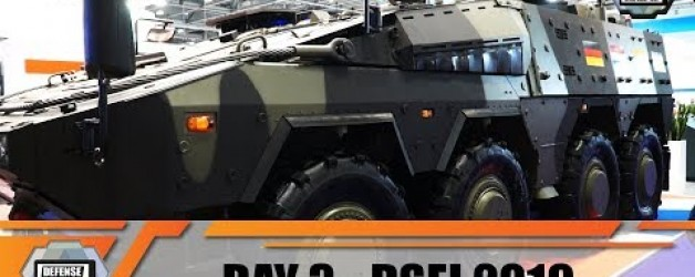 DSEI 2019 International Defense and Security Exhibition London UK Land Zone Show daily Web TV Day 3