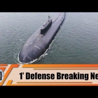 Russian Navy nuclear-powered submarine Omsk launches cruise missile Russia 1′ Defense Breaking News