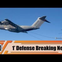 Airbus A400M performs first helicopter air-to-air refueling contacts H225M 1′ defense breaking news