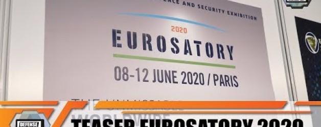 Eurosatory 2020 News teaser International Land Airland Defense & Security Exhibition Paris France