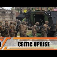 Celtic Uprise 2019 first Belgian French military exercise Scorpion Program in Motorized Capacity